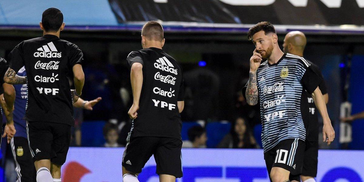 Argentina cancela juego amistoso contra Israel