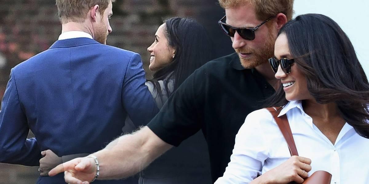 Salen a la luz fotos inéditas de Meghan Markle y el príncipe Harry