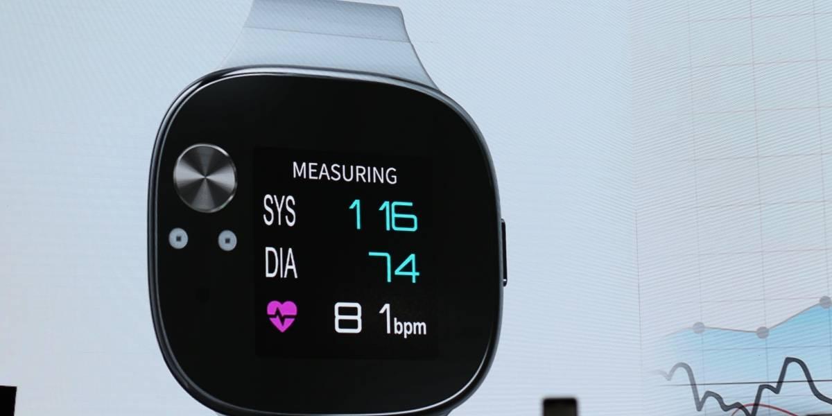 Asus VivoWatch BP puede medir tu presión sanguínea con hasta un mes de autonomía #Computex2018