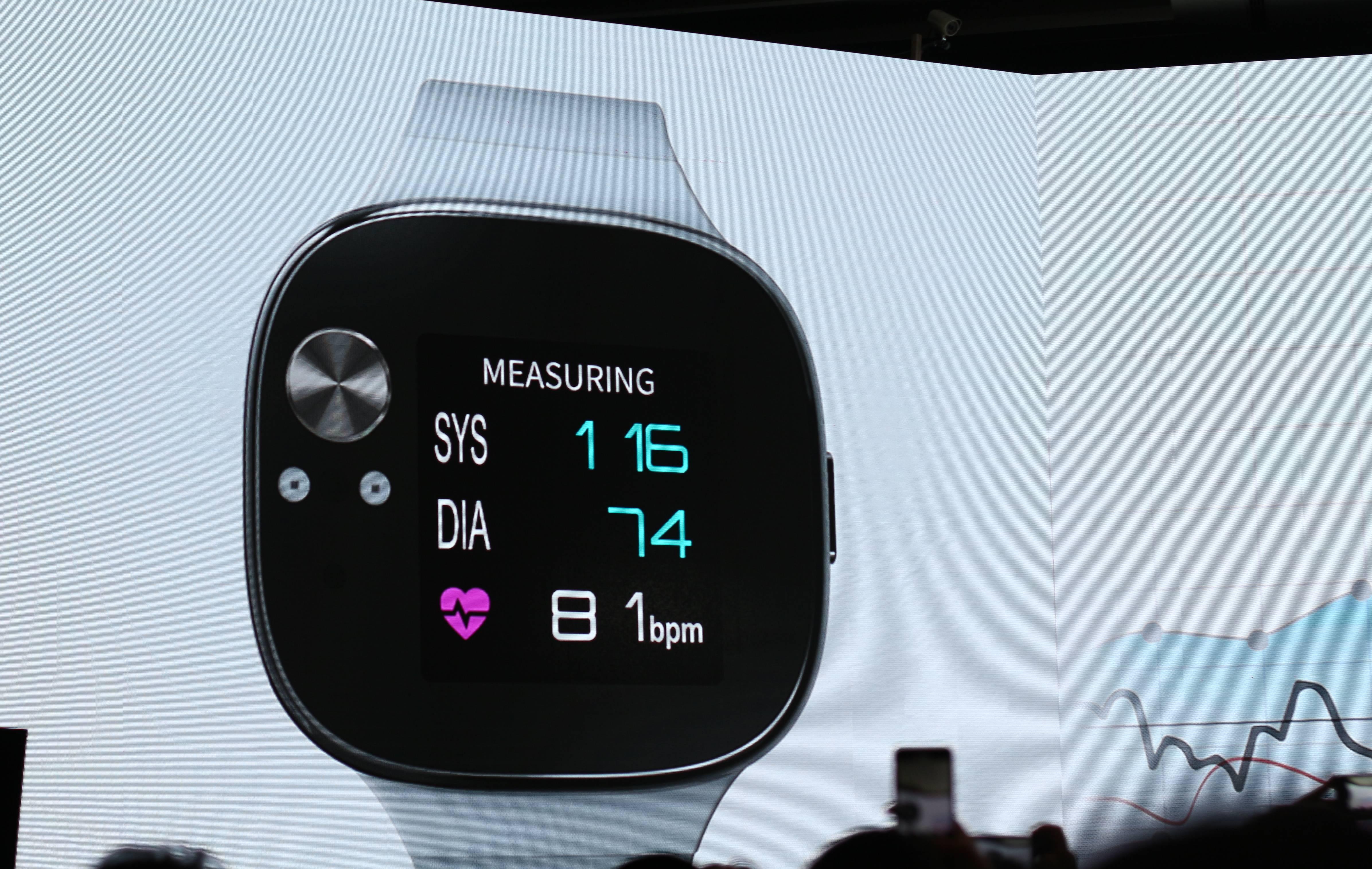 Asus VivoWatch BP puede medir tu presión sanguínea y durar hasta un mes sin enchufarse