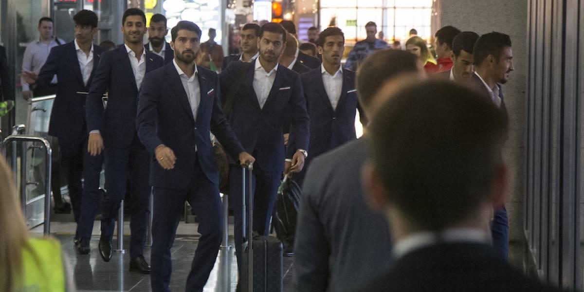 Irán fue la primera selección en arribar a Rusia
