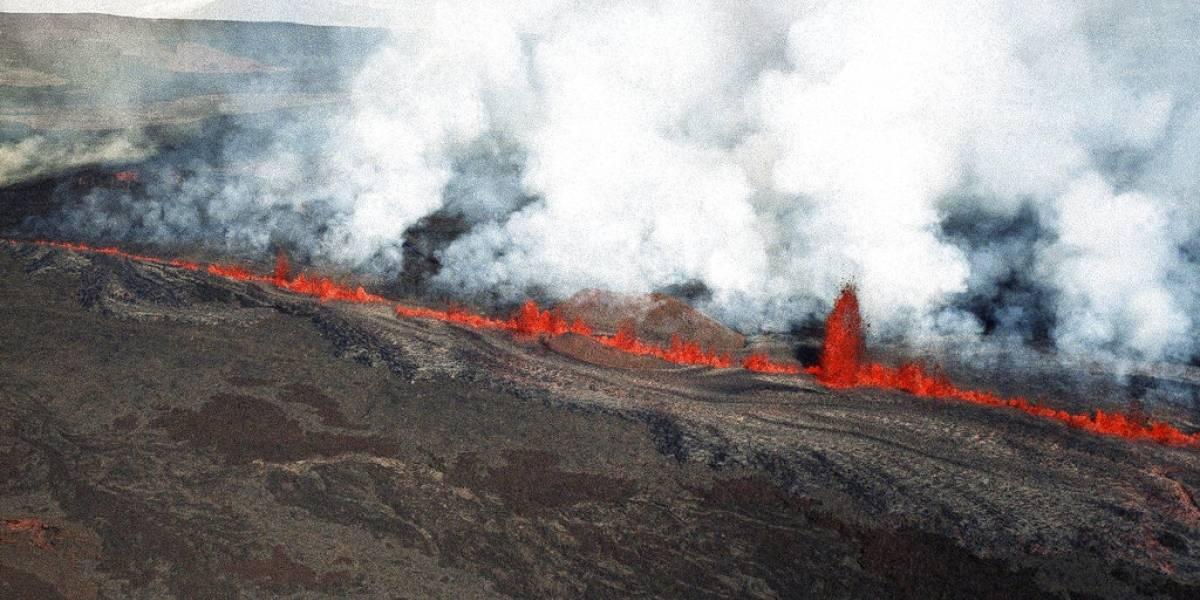 Lava del volcán Kilauea destruye cientos de casas en Hawái