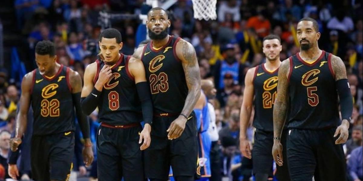 Cavaliers tras una victoria esperanzadora en Final NBA