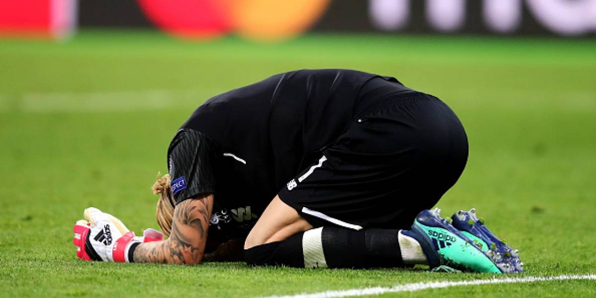 Karius sufrió una conmoción durante final de la Liga de Campeones, según doctores