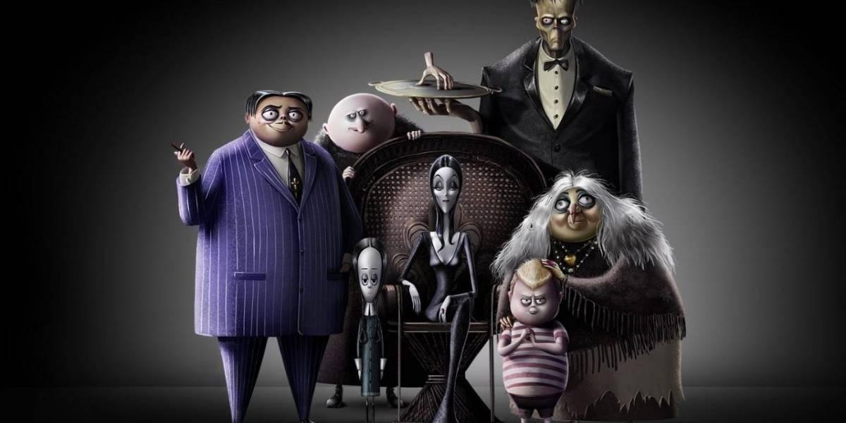 El primer vistazo a la película animada de Los Locos Addams