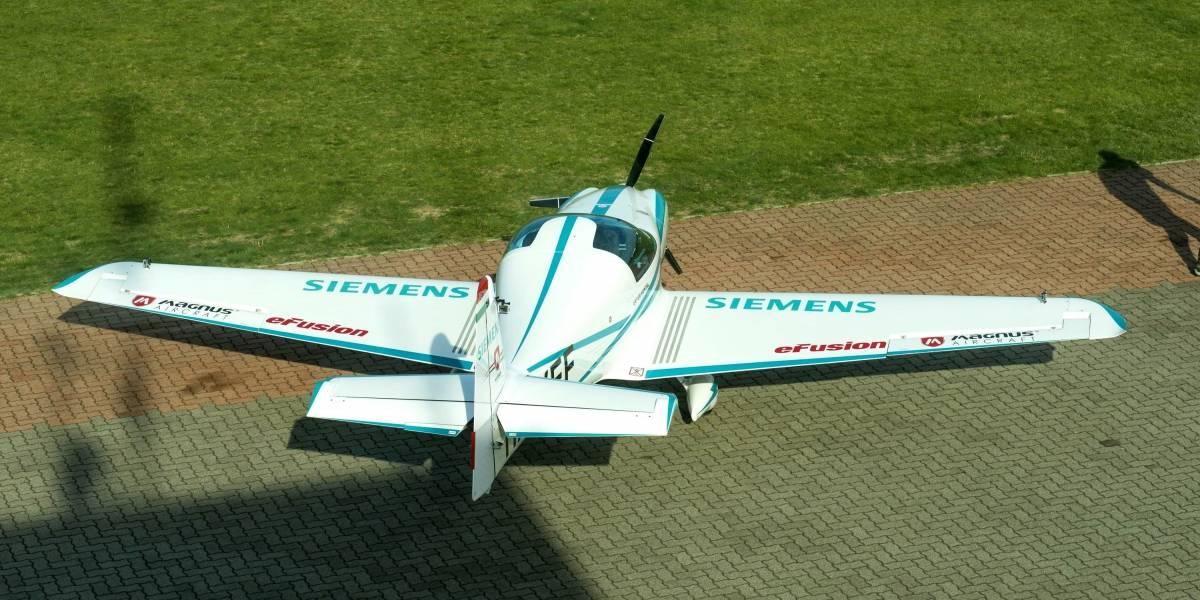 Avión eléctrico prototipo de Siemens se estrella en Hungría y fallecen sus dos pilotos