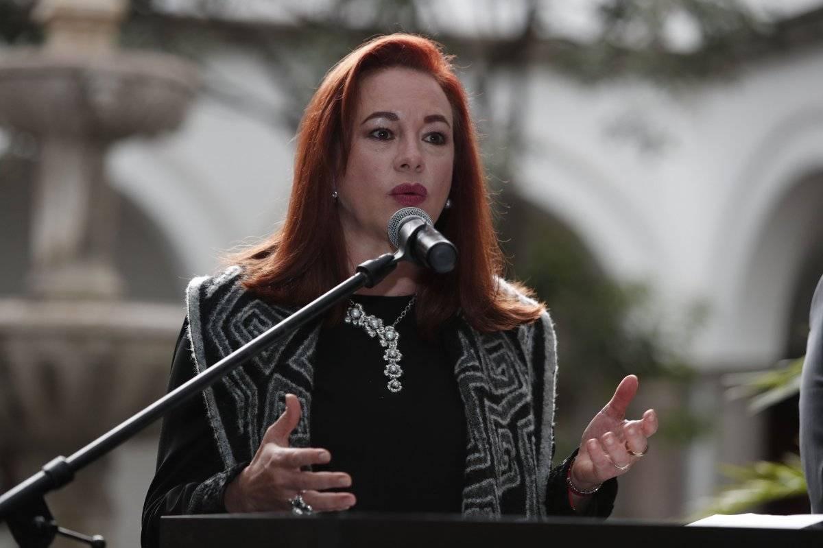 María Fernanda Espinosa EFE