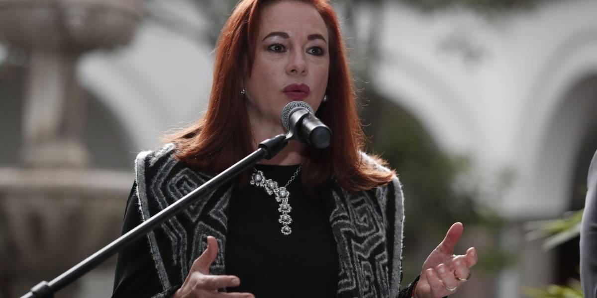 María Fernanda Espinosa se despidió de su cargo en la ONU