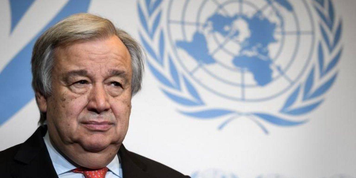 """Jefe de la ONU lamenta la """"mala dirección"""" del mundo ante el cambio climático"""