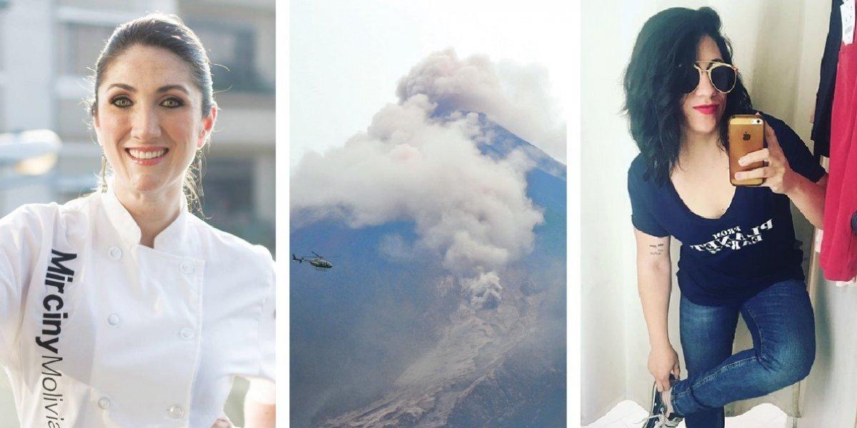 Mirciny Moliviatis se molesta por broma acerca de la tragedia del volcán de Fuego