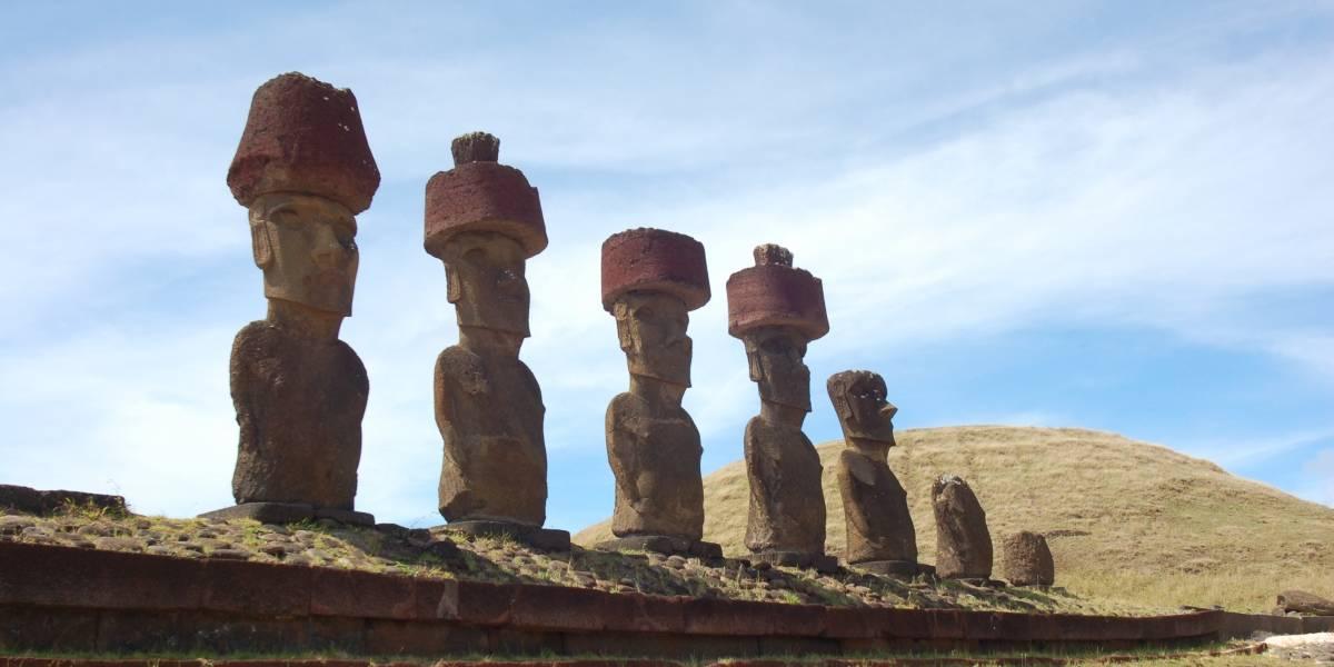 Moais de Isla de Pascua: Investigadores dilucidan cómo transportaron estas mega moles