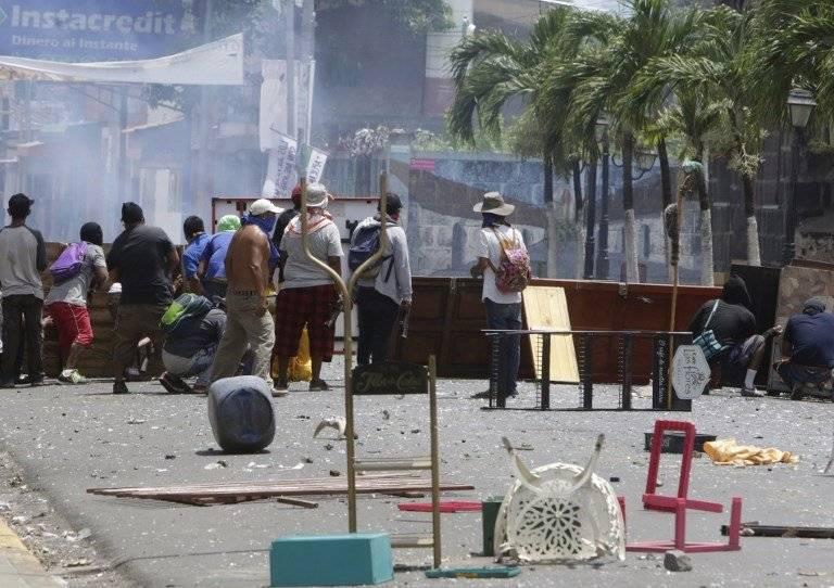Enfrentamientos en Masaya