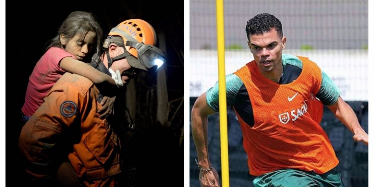 Mundialista con Portugal y ex del Real Madrid, Pepe, dedica mensaje a Guatemala