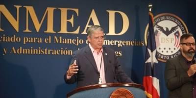 Carlos Acevedo, director de Manejo de Emergencias