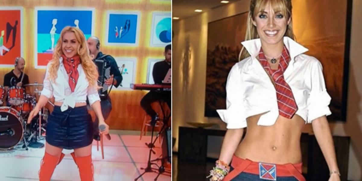 Mia Colucci do forró! Com figurino colegial, Joelma é comparada a personagem de Rebelde; veja memes
