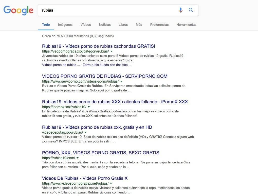 Sexismo se comprueba en búsquedas de Google al colocar nombres en masculino y femenino