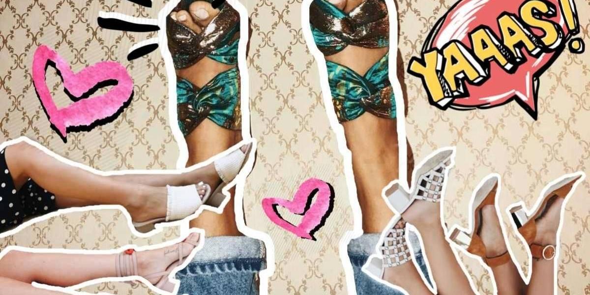 Tendencias de sandalias para el verano