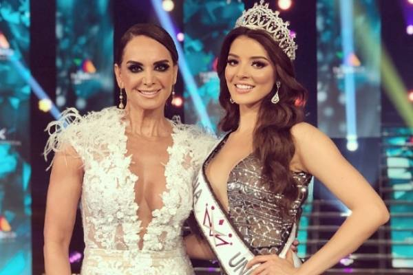 Lupita Jones y Andrea Toscano