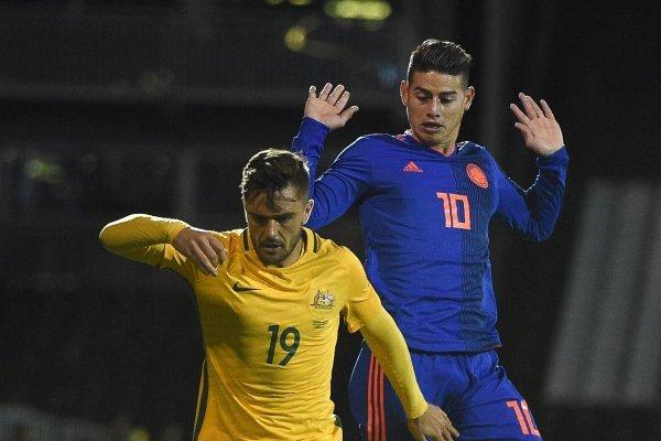 Amistoso de Selección Colombia antes del Mundial Rusia 2018