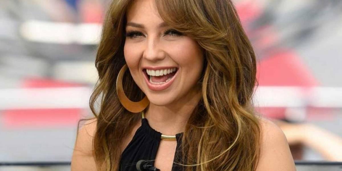 Thalia es criticada por sus presumir vacaciones en Italia