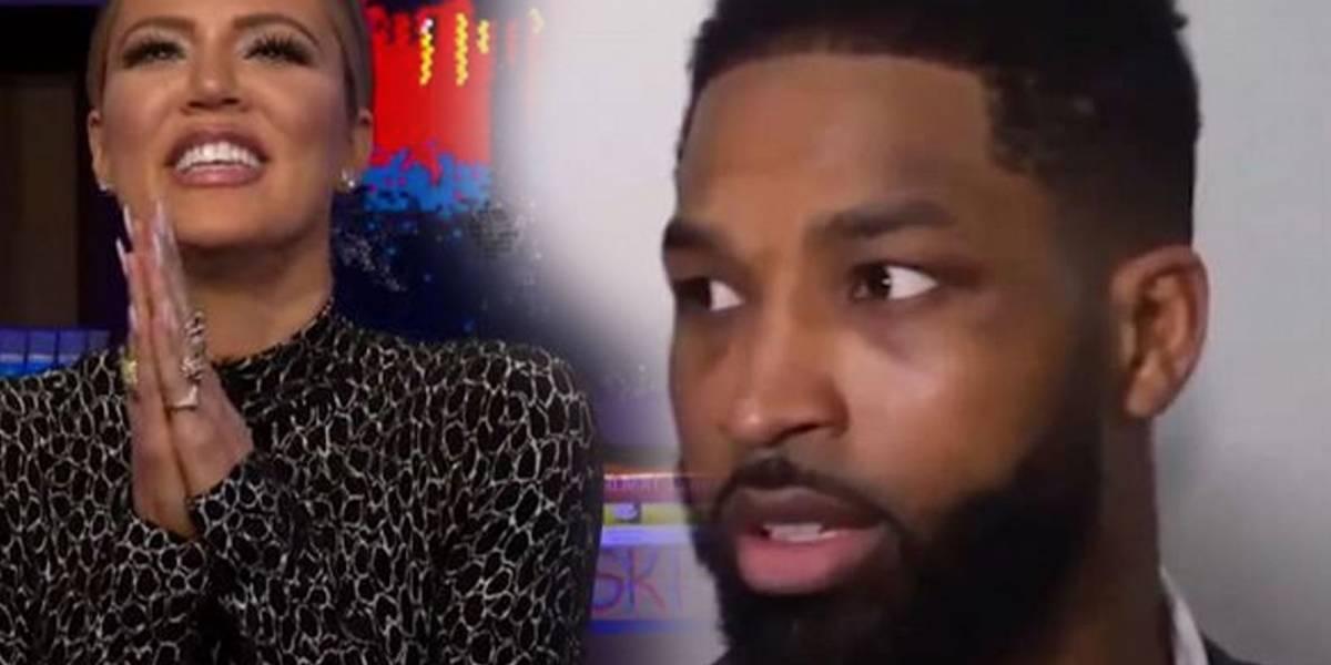 Tristan Thompson colapsa en entrevista en vivo