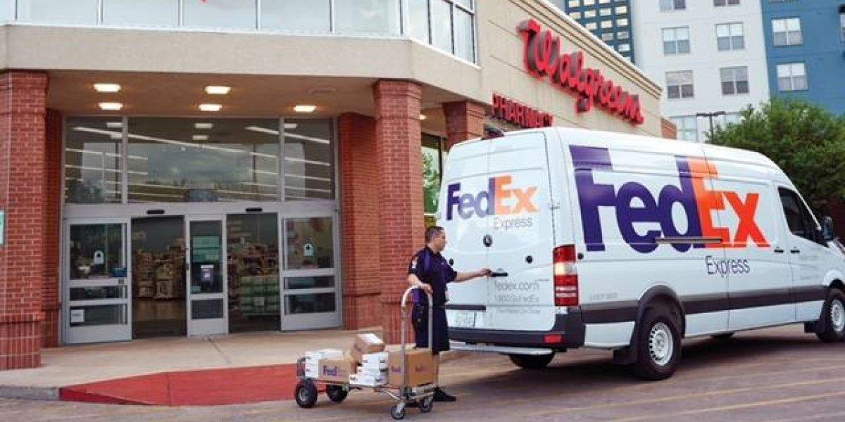 FedEx llega a 107 tiendas Walgreens