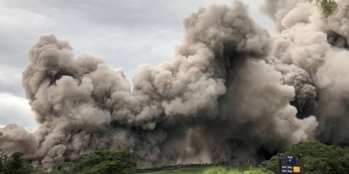 Guatemala alerta para aumento de atividade de vulcão após nova explosão; número de mortos vai a 75