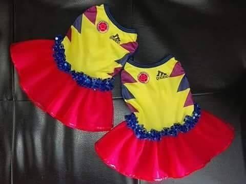 vestido perro seleccion colombia