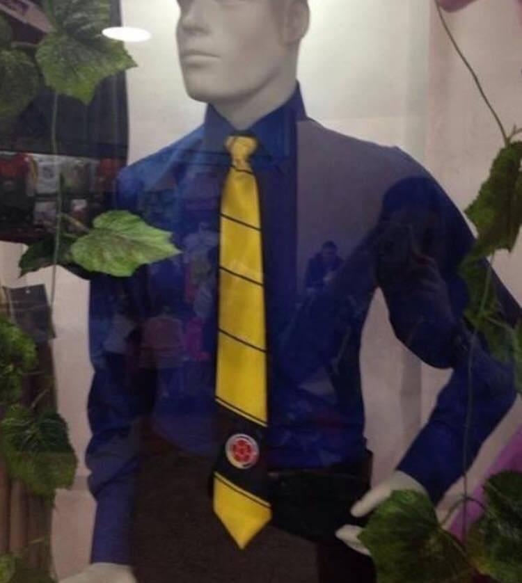 corbata seleccion colombia