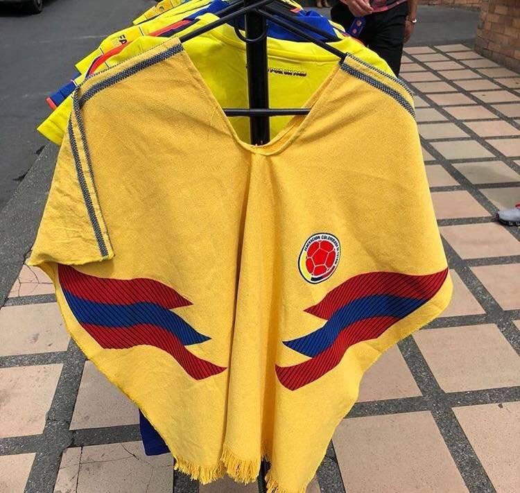 ruana seleccion colombia