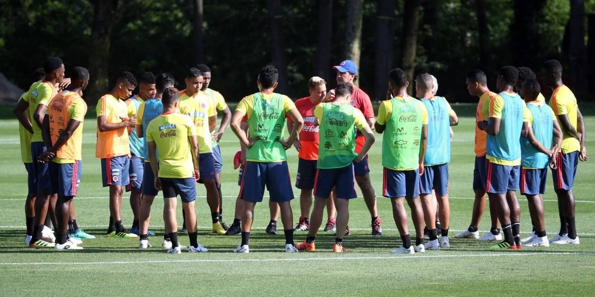 Primera baja de Colombia en debut de Rusia 2018