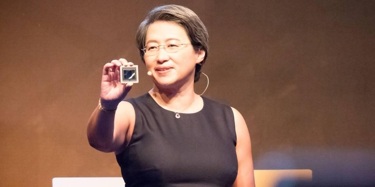 AMD anuncia un procesador con 32 núcleos y una GPU a 7nm #Computex2018