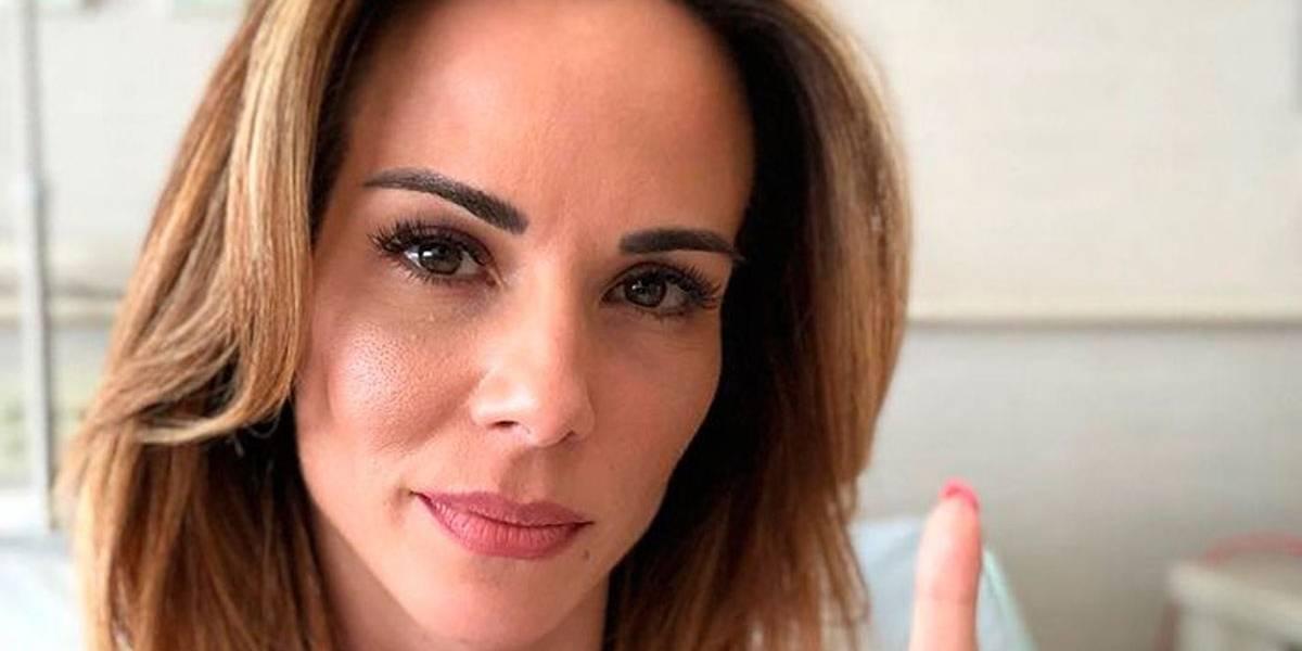 Ana Furtado faz relato sobre primeira sessão de quimioterapia