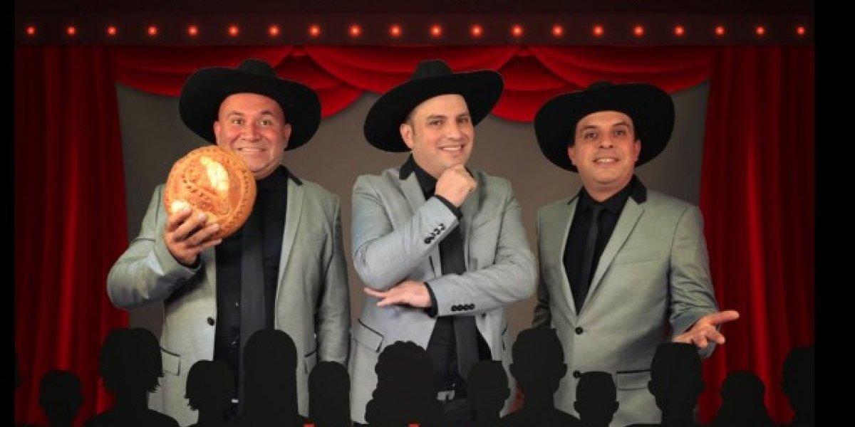 Los Tres Huitecos presentarán un show a beneficio de damnificados