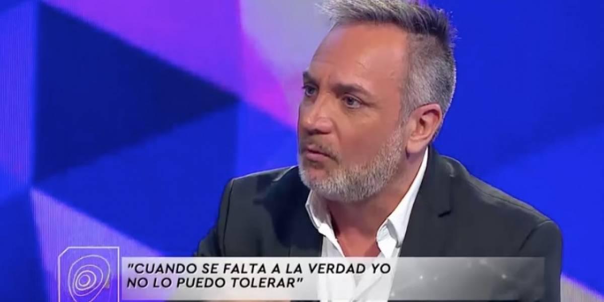 """Luis Jara se refirió a la salida de Ivette Vergara de """"Mucho gusto"""""""