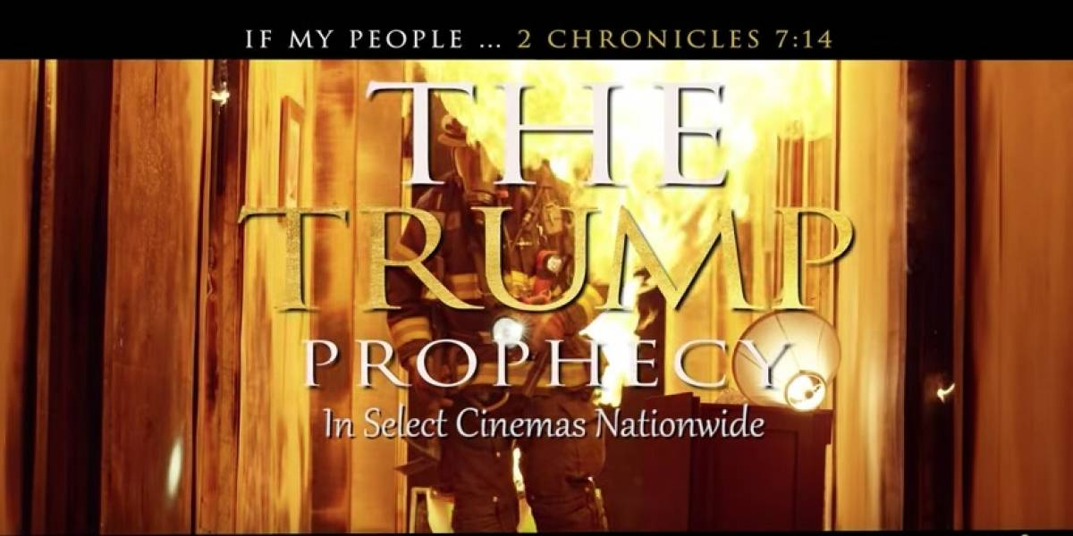 """""""The Trump Profecy"""": Una película sobre cómo Trump fue elegido por Dios"""