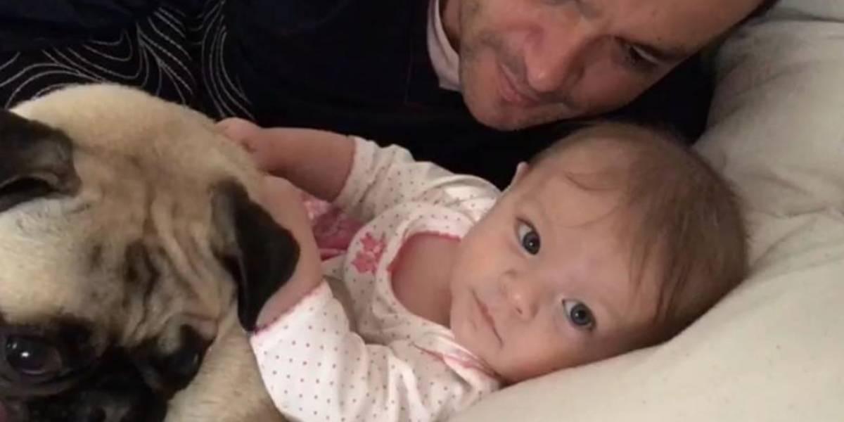 Juan Diego Alvira hizo llorar a sus seguidores con esta foto de su hija