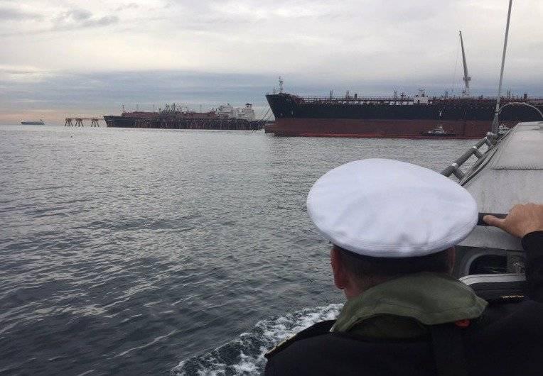 Armada de Chile controló derrame