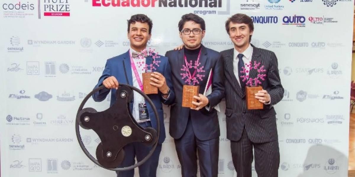 Estudiantes de Loja llevan su emprendimiento, Pascal Tech,  a competencia internacional