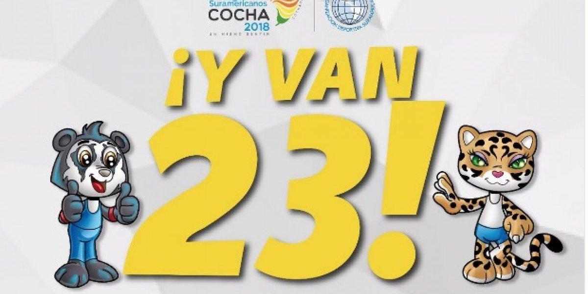 Oro y plata para el Team Ecuador en los Juegos Suramericanos Cochabamba 2018