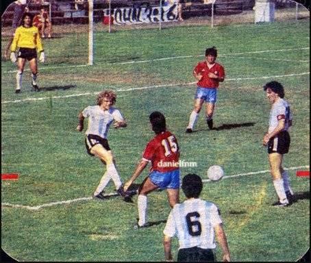 Chile eliminó a Argentina en Indianapolis 1987 / imagen: http://danielfnm-pasionroja.blogspot.com/2012/