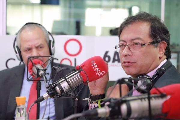 Fuertes críticas contra Darío Arizmendi por entrevista a Gustavo Petro