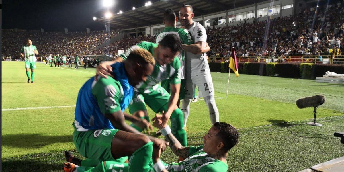 Atlético Nacional dejó verde a Ibagué, en la final de ida del fútbol colombiano