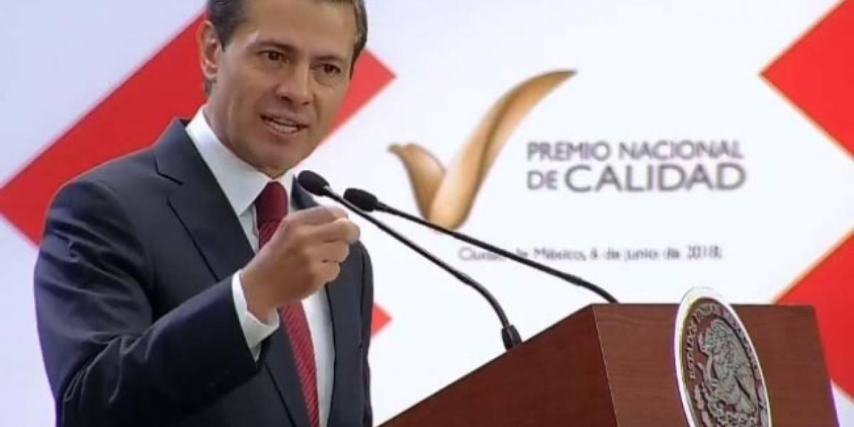 Reformas han impulsado la creación y calidad de empresas mexicanas: Peña Nieto