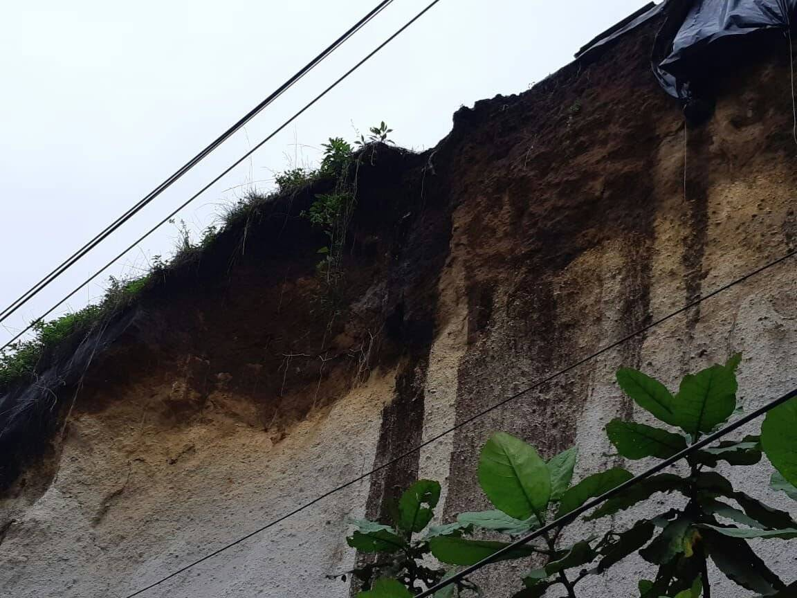 derrumbe en San Cristóbal