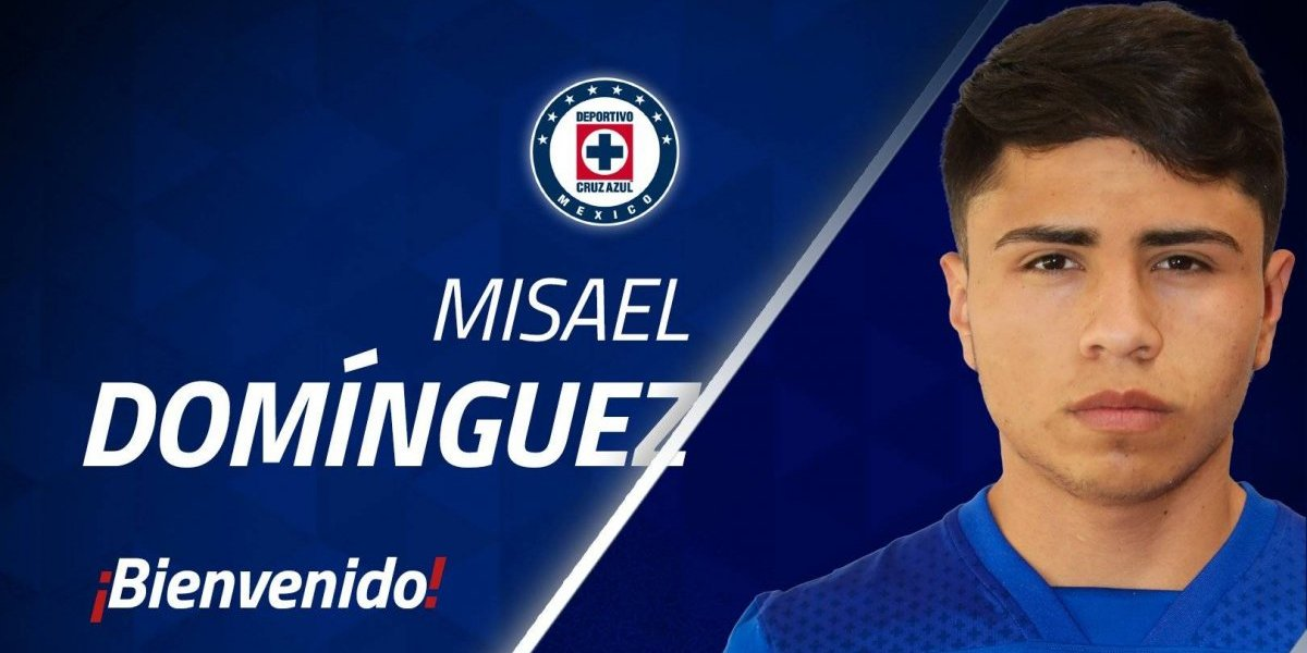Misael Domínguez, nuevo jugador de Cruz Azul