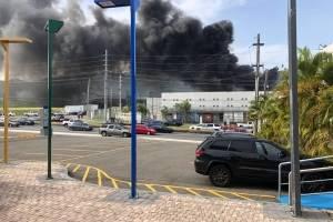 Fuego en Caguas