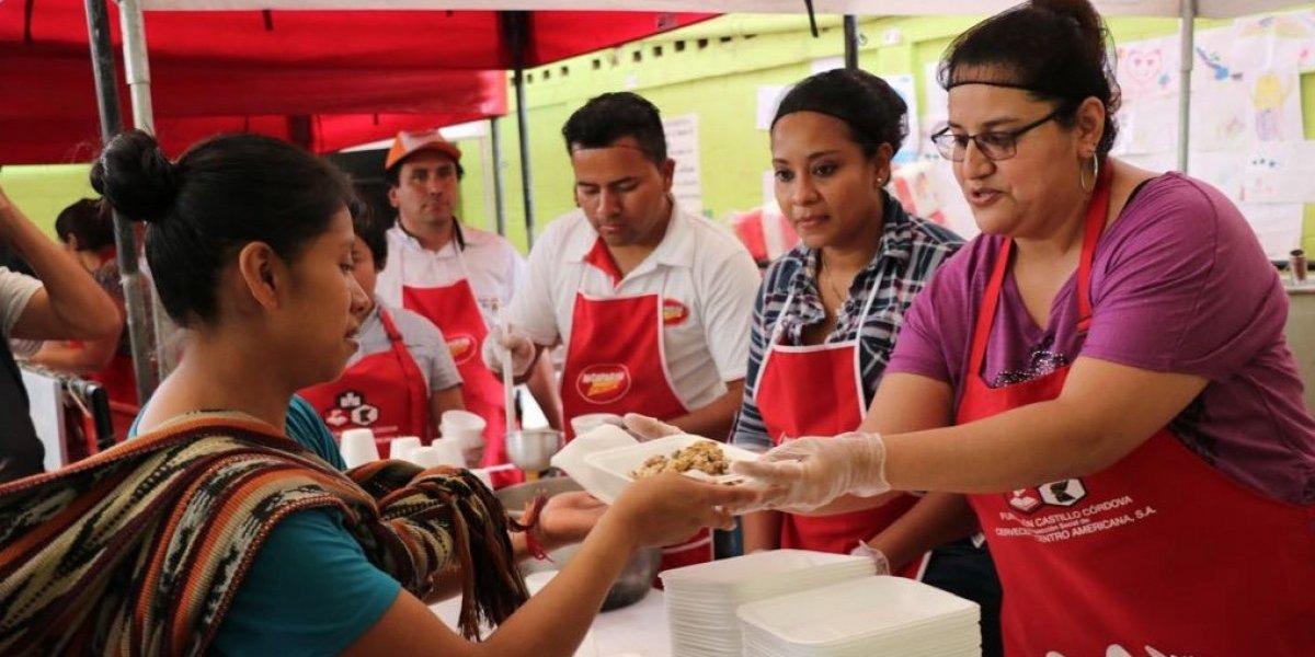 Cervecería Centro Americana, S. A. y Fundación Castillo Córdova brindan apoyo en respuesta a la tragedia por el volcán de Fuego