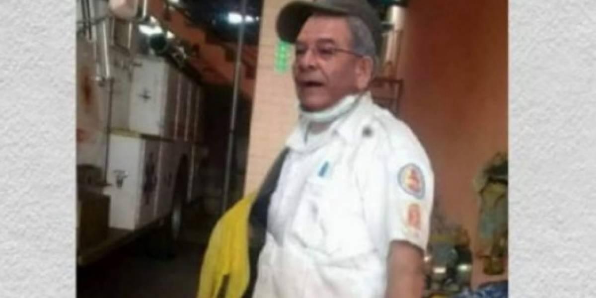 Así reaccionaron los usuarios ante la verdad de la foto del juez Gálvez como bombero