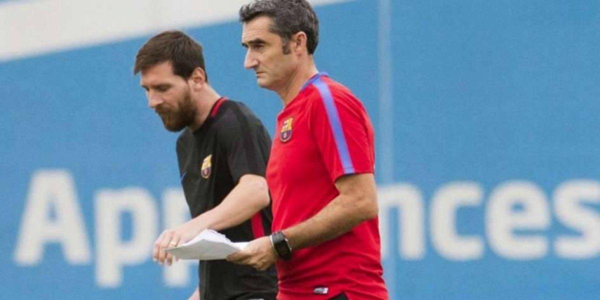 Según biografía Messi alertó a Valverde que Neymar se iría del Barça